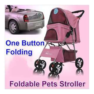 Foldable/ Washable Pet Stroller