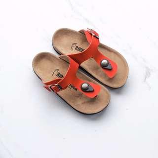 Sandal Birkenstock Anak Gizeh Merah