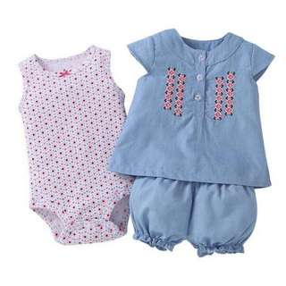 Baby/Toddler 3 Pcs Set