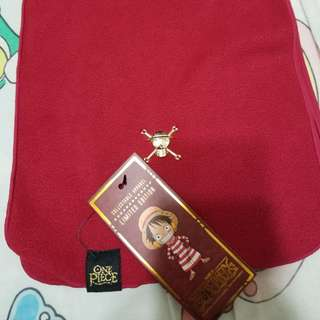 One Piece 海賊王 全新正品 紅色頸巾 圍巾