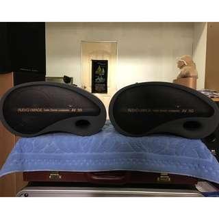 A pair of Brand NEW Audio Image AV 50 Unique Design Bookshelf Speakers (8 Ohms, 150 Watts)