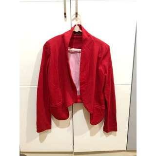 Mya Red Blazer
