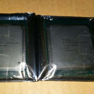 2 Pcs Intel Xeon E5-2630 V2 Worktstation or Server Processors for Dual Processor Systems