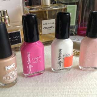 SALLY HANSEN NAIL POLISH LOT 3X