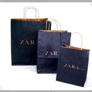 Paperbag Zara Ori
