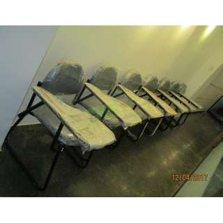 TC SLED TRAINING CHAIRS  SCHOOL CHAIRS W TABLET, SLED BASE