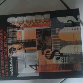 Applied Mathematics For Business, Economics, And The Social Sciences