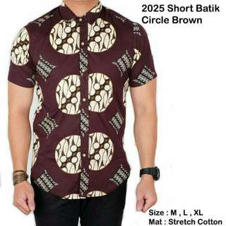 Short Batik Circle
