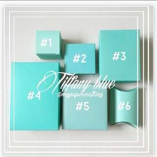 Tiffany Blue diy Gift box