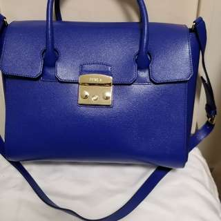 Furla Metropolis signature satchel bag