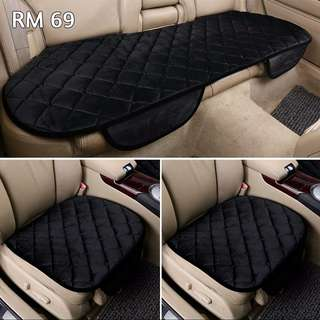 Velvet Car Seat Cushion Cover
