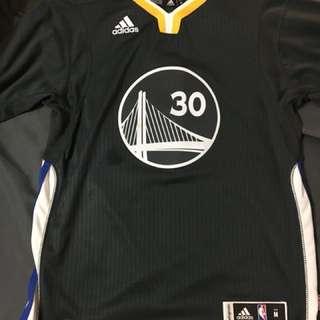 🚚 NBA 金州勇士 Curry 30號 青年版 M 球衣 Adidas