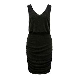 Forever New Black Shimmer Dress Sz 8