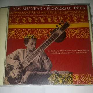 Music CD: Ravi Shankar - Flowers Of India