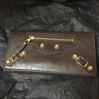NEW Authentic Balenciaga Giant City Wallet