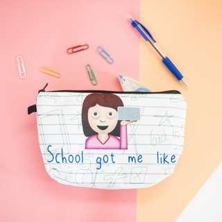 School Got Me Like... Pouch