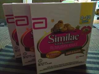 Similac 0-12m trial pack