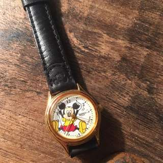 米奇手錶 mickey mouse watch 女裝 vintage disney