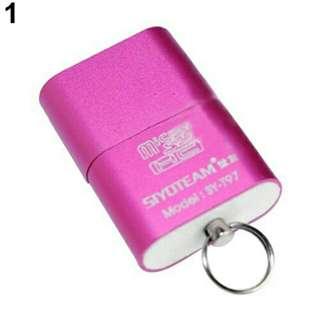 Portable Mini USB 2.0 Micro SD TF Flash Memory Card Reader Adapter