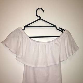 Cotton on off the shoulder shirr