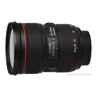 Limited Time Price!!! NEW - Canon EF 24-70mm F2.8 L II USM