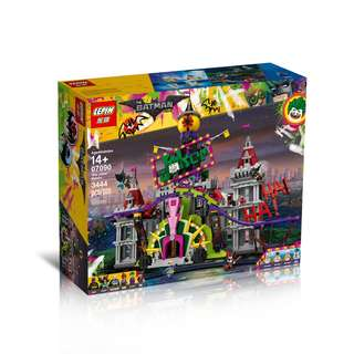LEPIN 07090 Batman Movie The Joker Manor