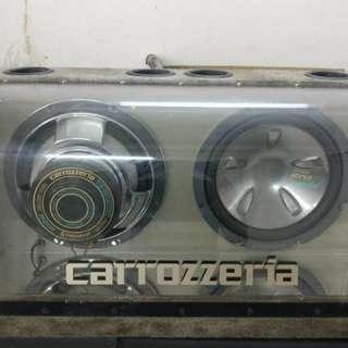 TS-WX1200 CAROZZERIA SUBWOOFER RARE ORI
