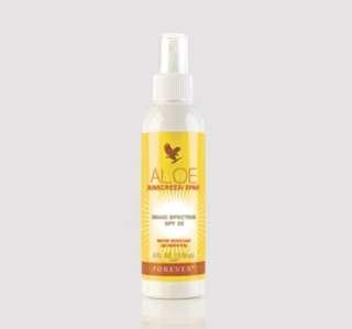 Aloe Sunscreen Spray SPF30