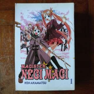 Magister Negi Magi Vol. 1-18