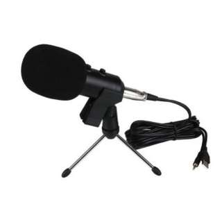 Recording Condenser Microphone with USB cable