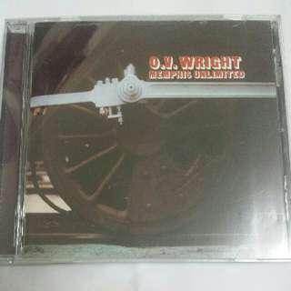 Music CD: O.V. Wright–Memphis Unlimited - Classic Soul