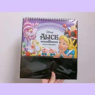 🚚 2018愛麗絲桌曆