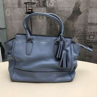 Coach Legacy Candace Turquoise tote (Blue)