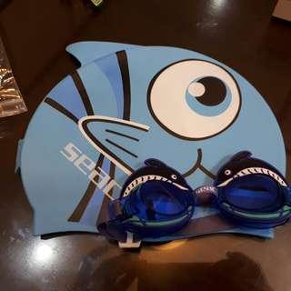 Goggle and Cap set SEAC