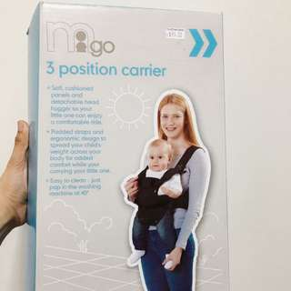 3 Position Baby Carrier Mothercare