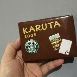 Starbucks karuta cards sealed japan