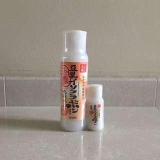 SANA Soy Milk Moisture Skin Lotion (Super Rich) Special Set