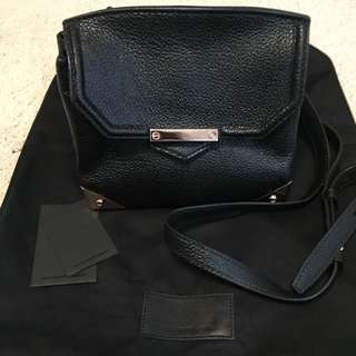 Alexander Wang 黑色真皮袋