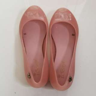 Gals jelly shoes