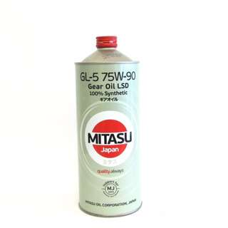 Mitasu MJ411 GL-5 75W-90 Gear Oil LSD 100% Synthetic 1L