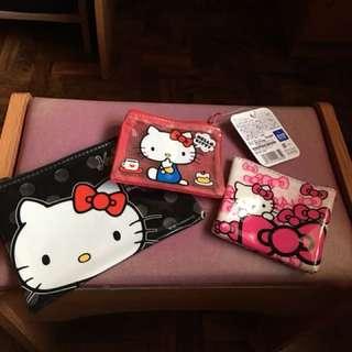 Hello Kitty pouches