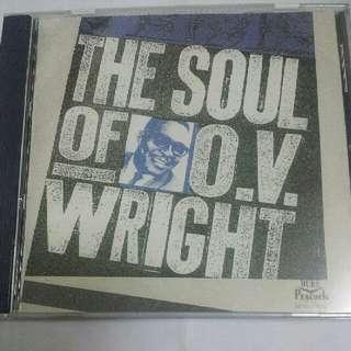 Music CD: O.V. Wright–The Soul Of O.V. Wright - Classic Soul