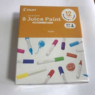 Pilot Juice Paint 12 colours