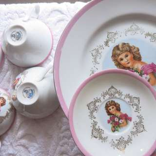 Royal Crown China Anchor Plates
