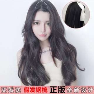 INSTOCK ash grey gradient Hair Wig