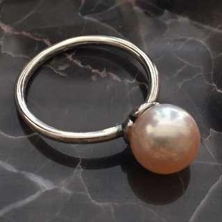 Trollbeads Rosa Pearl Ring (Brand New)