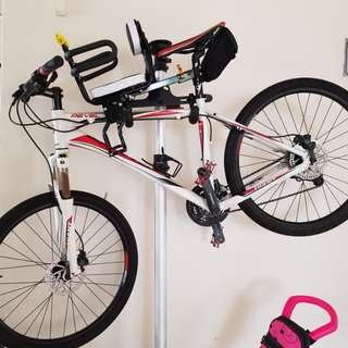 Bicycle with front child seat *free bike rack for car*