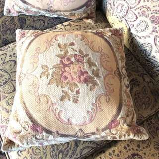French decorative pillows