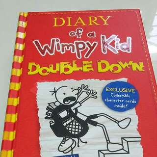 "Diary Of A Wimpy Kid ""double Down"""