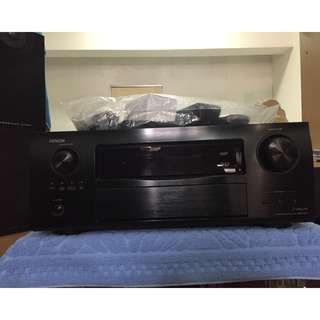 Brand NEW Denon AVR-3311CI 165 Watts/per channel 7.2-Channel Network Home Theater Receiver (With two original remotes and all accessories)